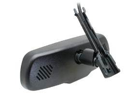 AK3-043LA monitor v zrcátku - detail vedení kabelu