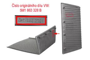 Inbay® Qi nabíječka VW Golf Plus / Tiquan - vložka odkládacího prostoru před řadící pákou