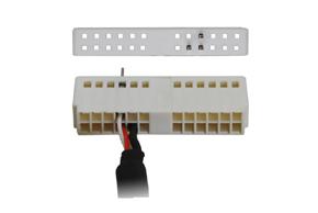 AUX audio adaptér VW - detail konektoru