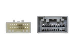 Adaptér pro ovládání na volantu Toyota - detail konektoru