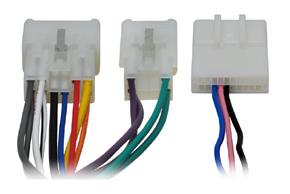 Adaptér pro ovládání na volantu Toyota (01-11) - detail konektoru