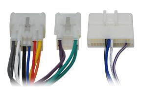 Adaptér pro ovládání na volantu Toyota (11->) - detail konektoru