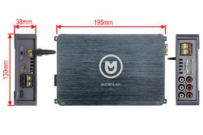MACROM M-DSPA500 - rozměry