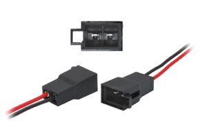 Adaptér pro připojení reproduktorů - detail konektoru