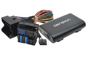 GATEWAY Lite3 iPhone/iPod/USB adaptér BMW - obsah balení