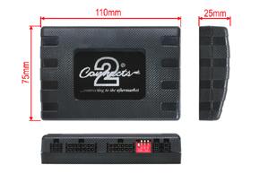 Informační adaptér pro VW / Škoda / Seat - rozměry jednotky