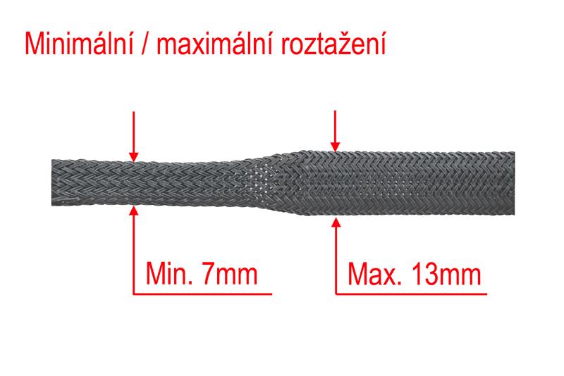 Ochranný oplet 8mm