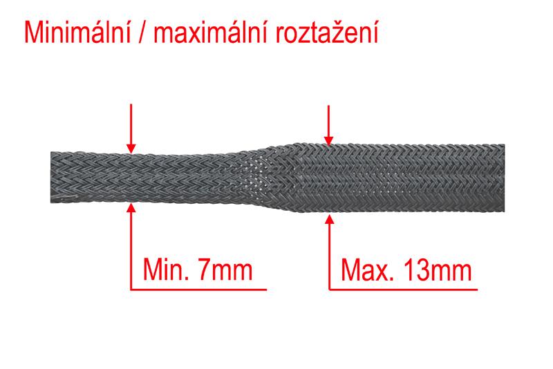 Ochranný oplet 10mm