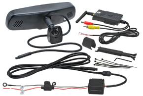 AK2-043WI-35 monitor v zrcátku s Wifi přenosem - obsah balení