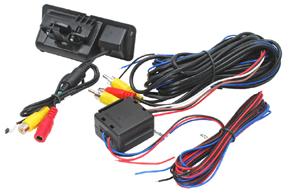 CCD parkovací kamera BMW 3 - obsah balení