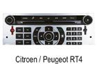 Peugeot Citroen OEM autorádia Clarion/Blaupunkt/Siemens RT4