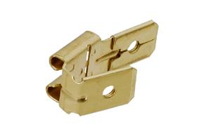 Konektor dutinka 6,3mm s odbočkou 2x kolík
