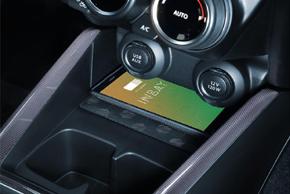 Inbay® Qi nabíječka Suzuki Swift (18->) - umístění v automobilu