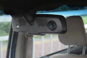EV3-043LAD HD DVR kamera - umístění v automobilu