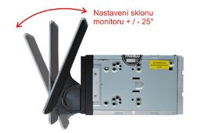 MACROM M-AN1000 - nastavení sklonu monitoru
