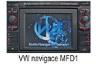 Škoda navigace MFD-1