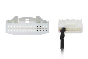 AUX vstup pro OEM autorádia Subaru/ Toyota - detail konektoru
