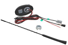 AM/FM+GPS střešní anténa PSA - obsah balení