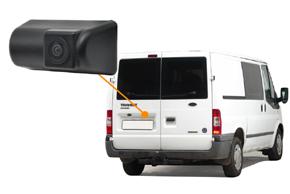CCD parkovací kamera Ford Transit - umístění v automobilu