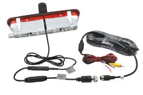CCD parkovací kamera Fiat Doblo / Opel Combo - obsah balení