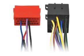 Adaptér pro ovládání na volantu Iveco Eurocargo - detail konektoru