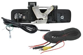 CCD parkovací kamera Isuzu D-Max (12->) - obsah balení