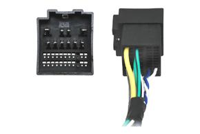 Adaptér pro ovládání na volantu Ford Fiesta (18->) - detail konektoru