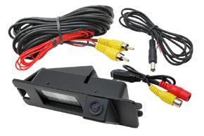 CCD parkovací kamera Nissan / Dacia - obsah balení