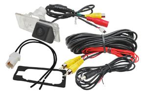 CCD parkovací kamera Hyundai / Kia - obsah balení