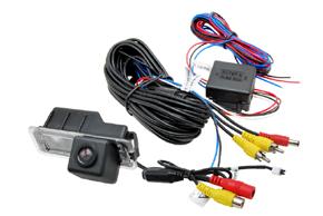 CCD parkovací kamera VW - obsah balení