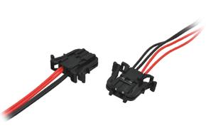 Adaptér pro připojení repro Mercedes - detail konektoru