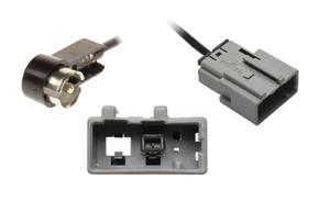 Anténní adaptér Subaru - ISO - Detail konektoru