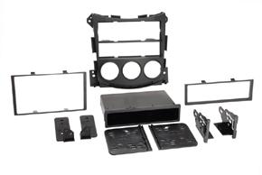 Adaptér 2DIN autorádia Nissan 370Z - obsah balení
