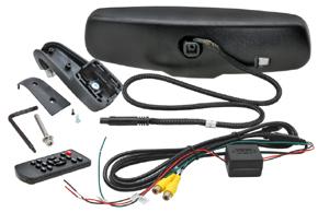AK-043LA monitor v zrcátku Renault - obsah balení