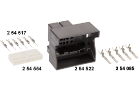 Kompletní sestava konektoru