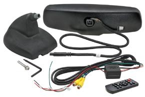 AK-043LA monitor v zrcátku Nissan, Renault - obsah balení