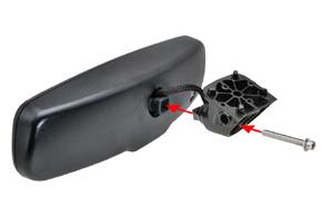 AD-10D vnitřní ztmívací zpětné zrcátko - sestavení zrcátka a konzole