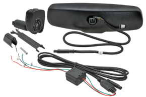 AD-10D vnitřní ztmívací zpětné zrcátko BMW / Peugeot - obsah balení