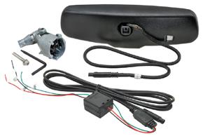 AD-10D vnitřní ztmívací zpětné zrcátko Peugeot - obsah balení