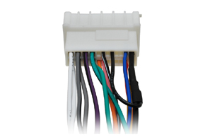 Adaptér pro ovládání na volantu Hyundai / Kia - zapojení vodičů