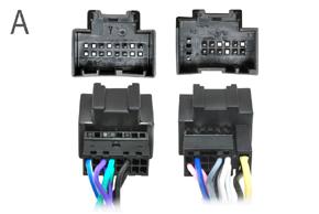 Adaptér pro ovládání na volantu Chevrolet - detail konektoru A