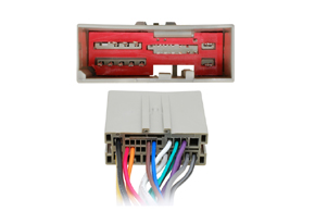 Adaptér pro ovládání na volantu Ford Fiesta / Fusion - detail konektoru