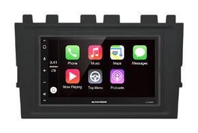 Adaptér 2DIN autorádia VW Polo (18->) - s vestavěnou navigací Macrom