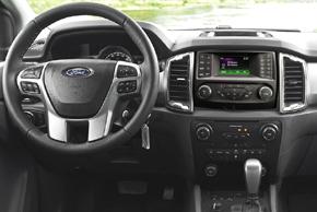 Ford Ranger (15->) - interiér s originálním autorádiem