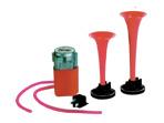 Pneumatické klaksony s kompresorem