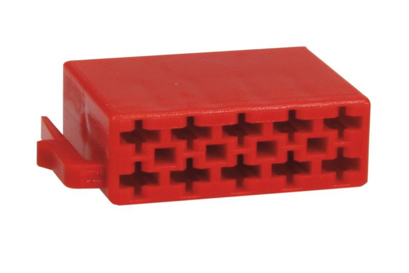 Plastový kryt ISO - 10pin