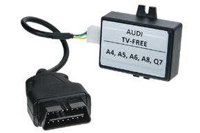 OBD modul odblok.obrazu Audi MMI 2G