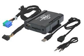 USB / AUX vstup Becker