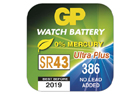 GP 386 baterie - lithium 1,5V