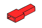Kryt dutinky 6,3mm červený
